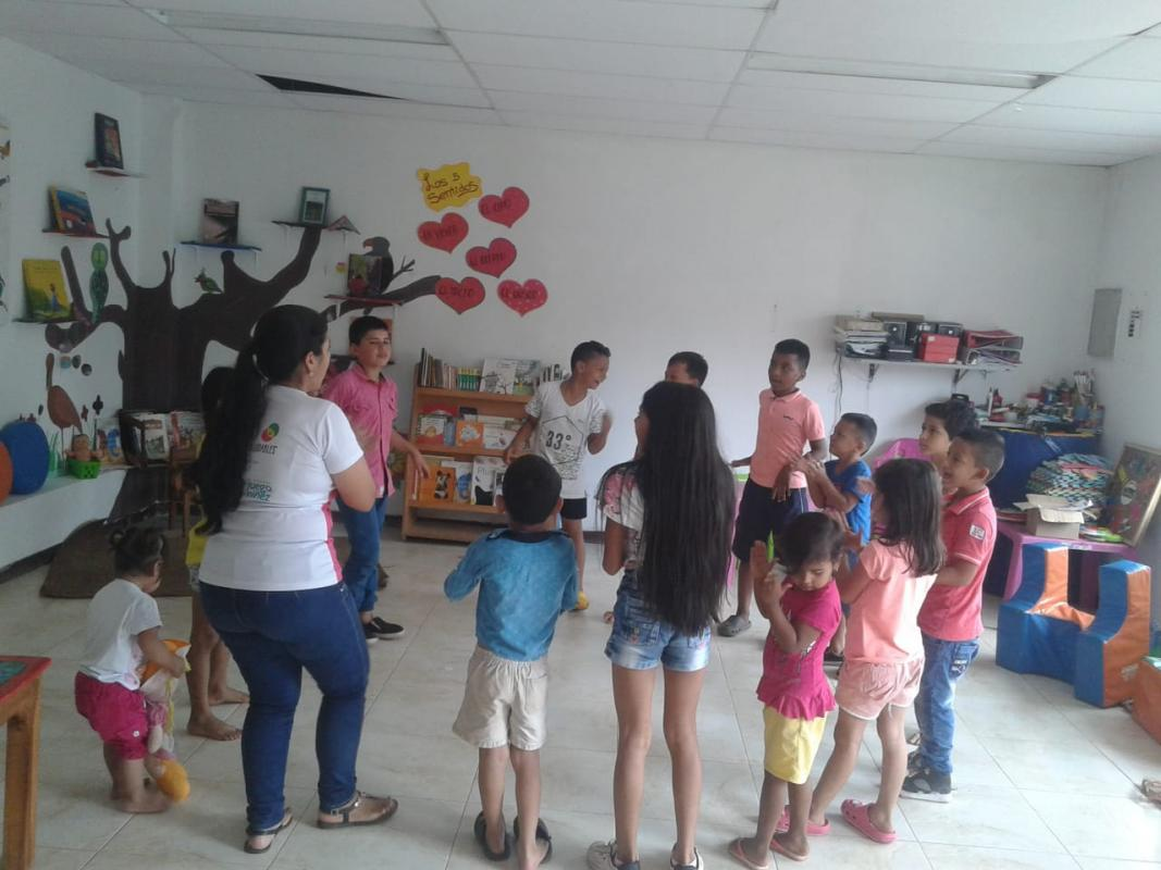 Hábitos saludables en San Vicente del Caguán