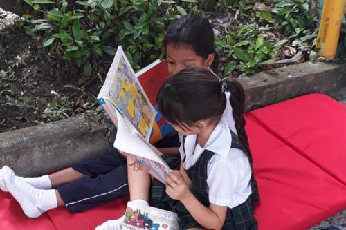 Día de lectura en Bugalagrande