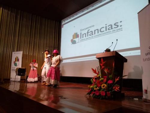 Encuentro de Infancias en Unipanamericana