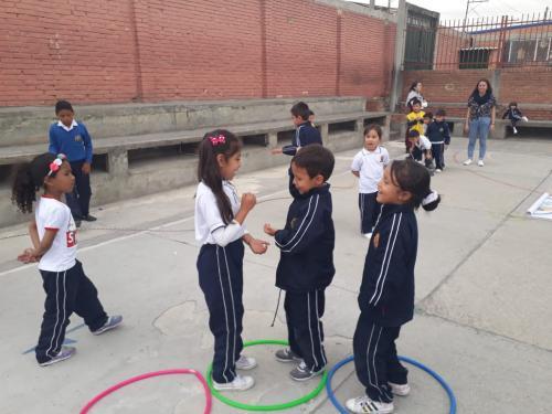 Visita al Colegio Manuel Cepeda Vargas