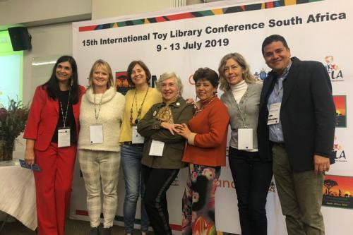 15va. Conferencia de Lutotecas de la International Toy Libraries Association en Suráfrica