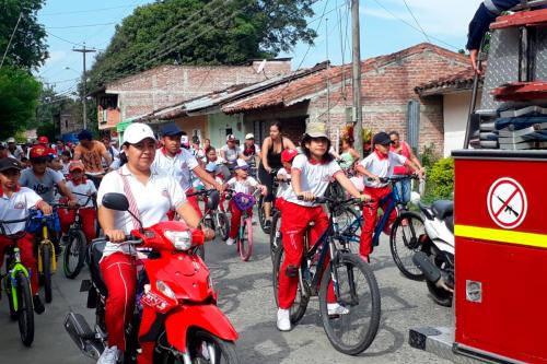 ¡Ciclo Paseo y Juego en Familia en Bugalagrande!