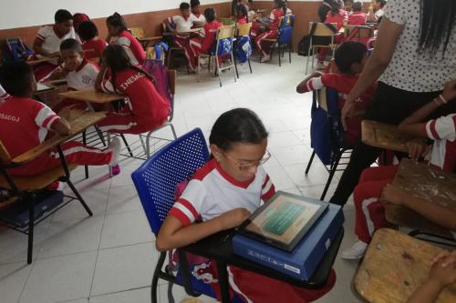 Empoderamiento digital en Manaure/ Empoderando niñas y niños, sobre innovación digital y juegos tecnológicos