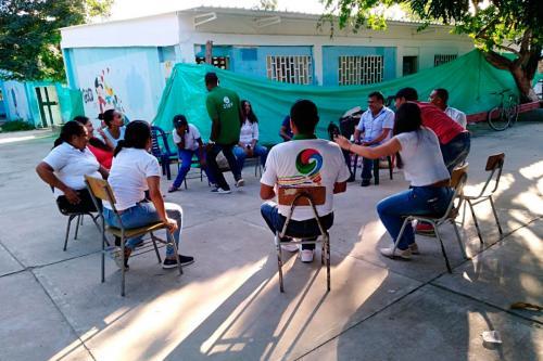Jornada de sensibilización en Palomino